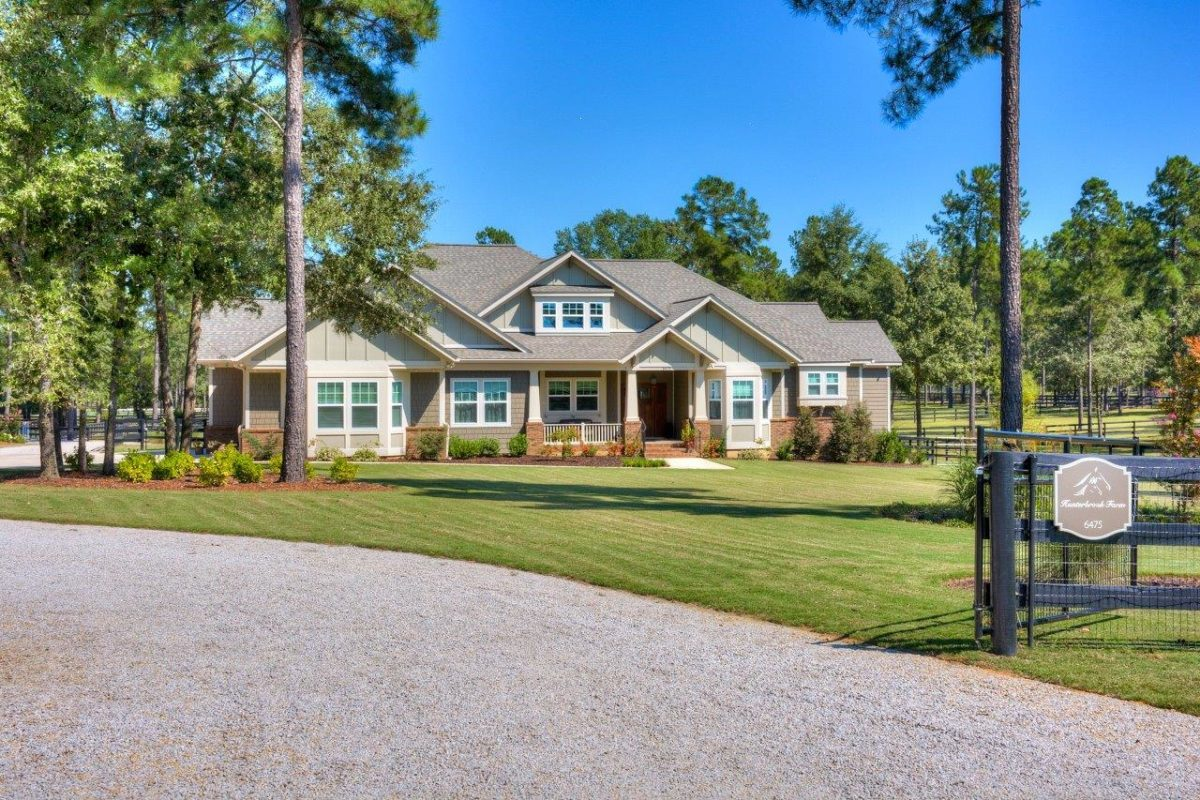 building a home in aiken, south carolina