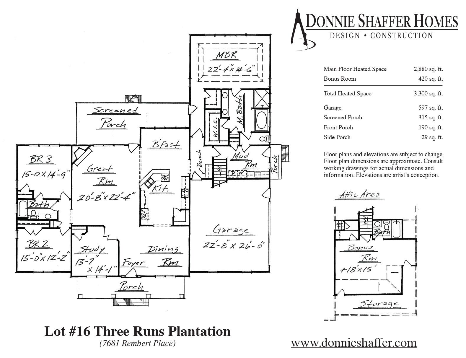 16 Three Runs Plantation On Rembert Place Donnie